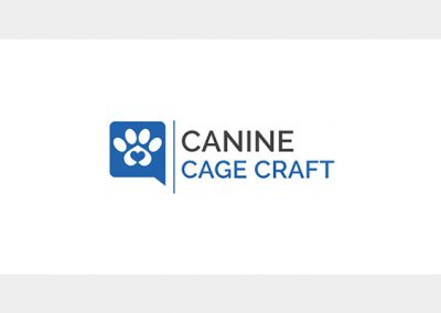 Canine Cage Craft Logo Design 1