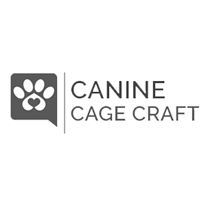 Canine Cage Craft logo design and web design