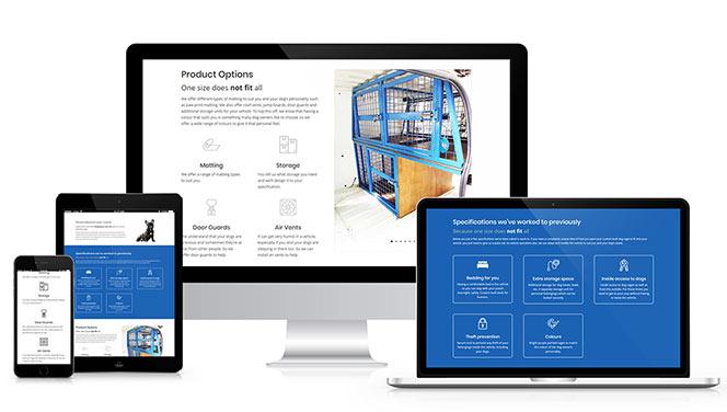 Canine Cage Craft website