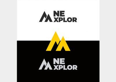 NE XPLOR logo Design 1