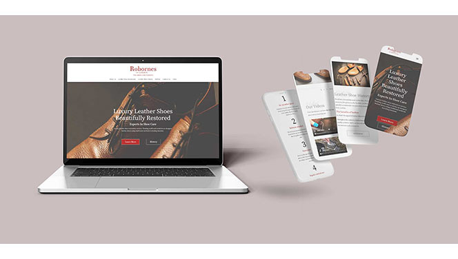 Robornes Shoe Care - Digital Paw Marketing
