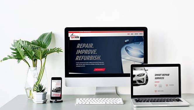 Smart Repair Cosmetic car repair website