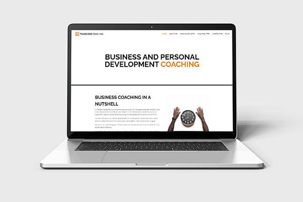 Transcend Coaching website