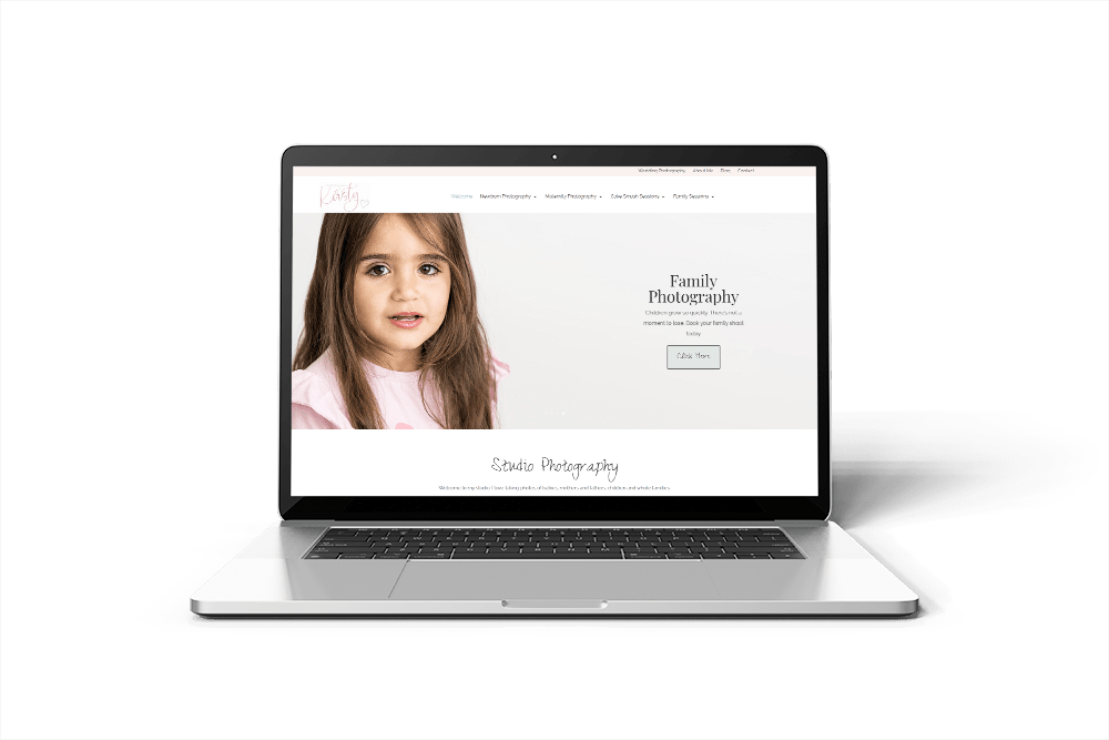 Kirsty Airey Photography website Kent