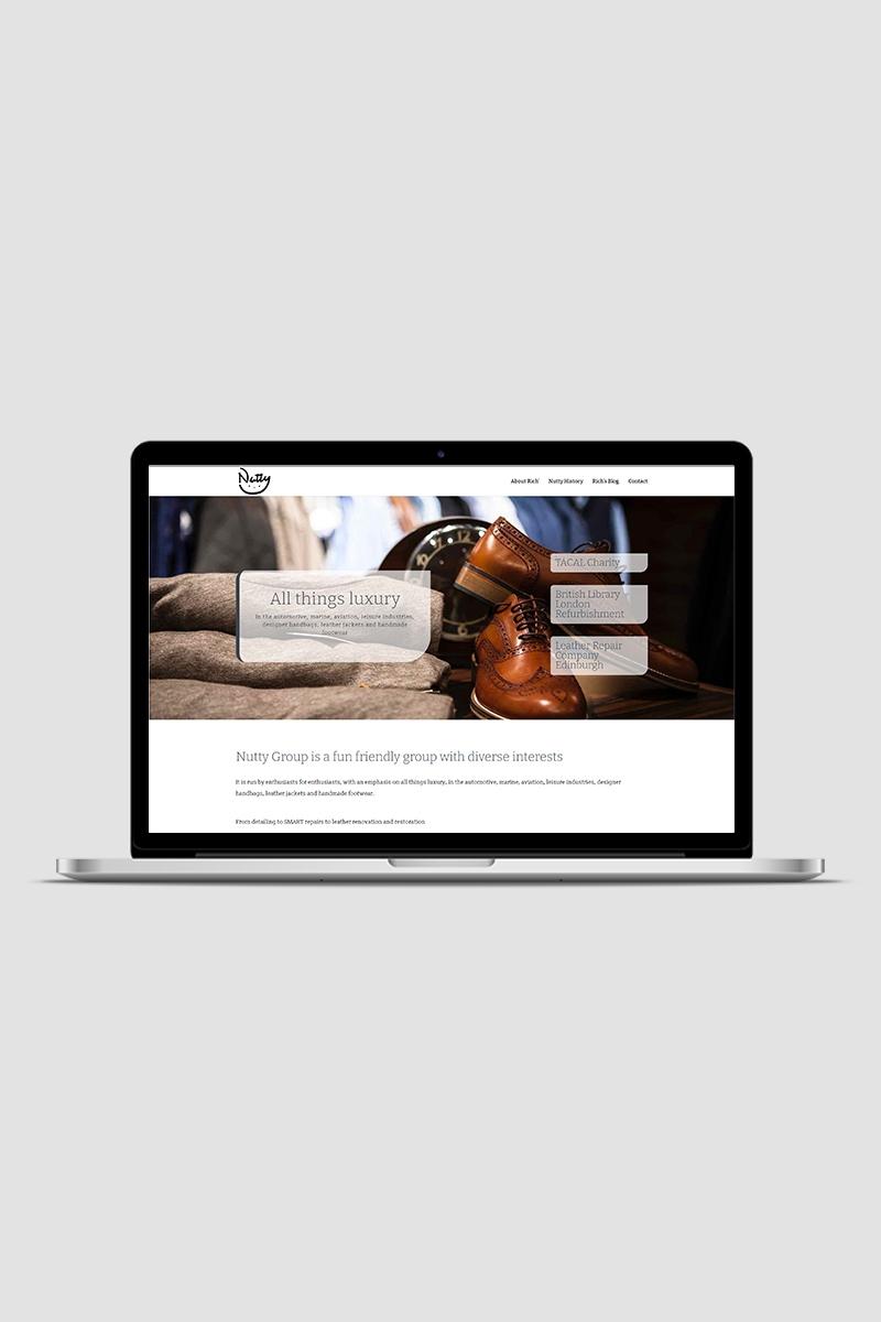 Nutty Group Blog website