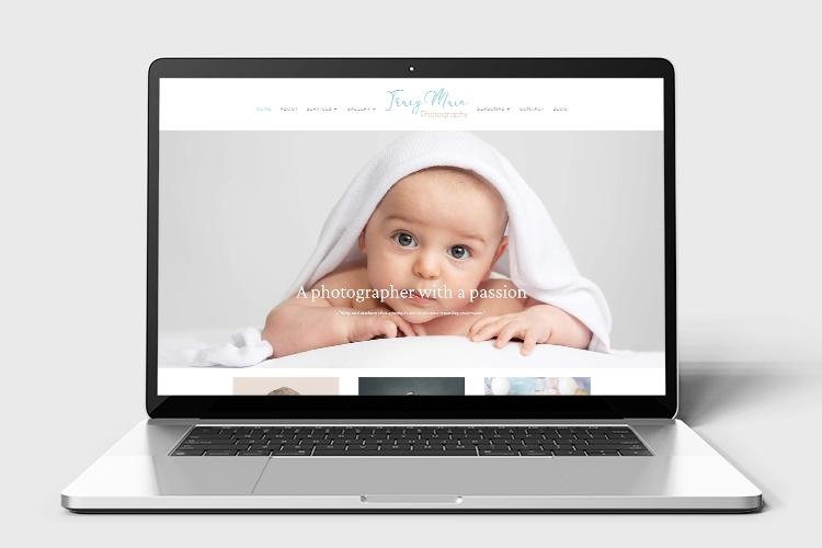 Tracy Main photography website